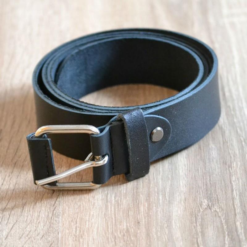 Ремінь шкіряний 30 мм чорний be 002 black 3606 d6c67324c8cf7