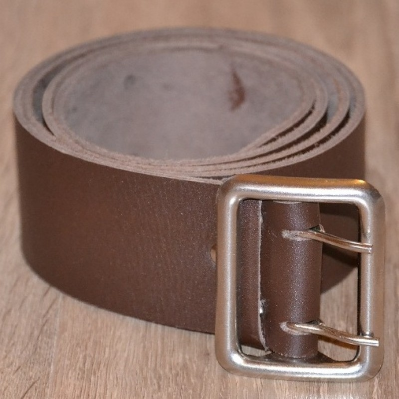 Ремінь шкіряний 50 мм коричневий be 005 brown 3606 cb5b32ceac3bc