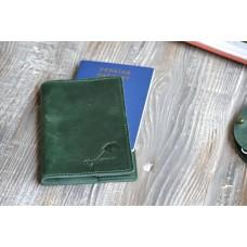 Обкладинка для паспорта co_001_green