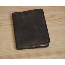 Обкладинка для паспорта шкіряна co_002_brown