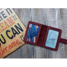 Обкладинка для ID паспорта co_005_bordo