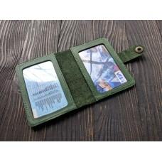 Обкладинка для ID паспорта co_005_green