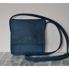 Чоловіча сумка з натуральної шкіри mb_002_blue