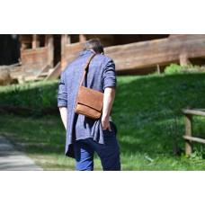 Чоловіча сумка з натуральної шкіри mb_002_camel