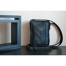 Чоловіча сумка з натуральної шкіри mb_009_black