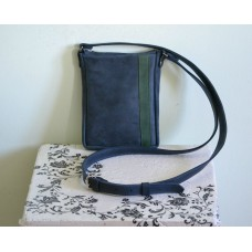 Чоловіча сумка з натуральної шкіри mb_009_blue