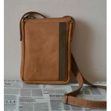 Чоловіча сумка з натуральної шкіри mb_009_whiskey
