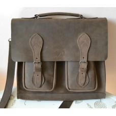 Чоловічий портфель з натуральної шкіри  mb_015_brown