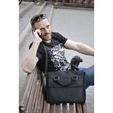 Чоловіча шкіряна сумка mb_016_black