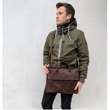 Чоловіча шкіряна сумка mb_016_brown