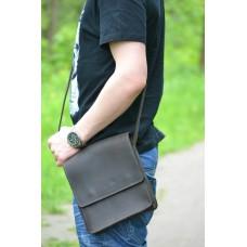 Чоловіча сумка з натуральної шкіри mb_022_brown
