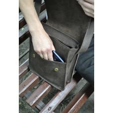 Чоловіча сумка з натуральної шкіри mb_025_brown