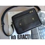 Поясна-крос сумка з натуральної шкіри mb_027_black_flotar