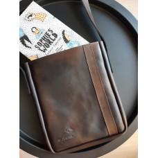 Чоловіча сумка з натуральної шкіри mb_029_cognac