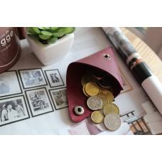 Монетниця з натуральної шкіри cop_001_bordo