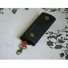 Ключниця з натуральної шкіри kc_002_blаck