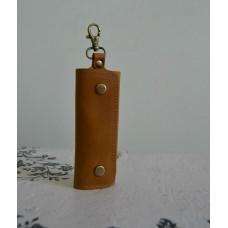 Ключниця з натуральної шкіри kc_002_camel