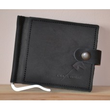 Затискач для купюр з монетницею mc_001_black