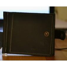 Затискач для купюр на кнопці mc_003_black