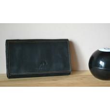 Жіночий клатч-гаманець pu_001_black