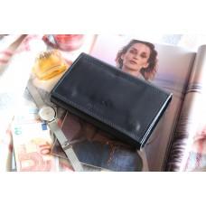 Жіночий клатч-гаманець з преміум шкіри pu_001_blue_orion