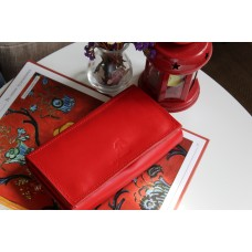 Жіночий клатч-гаманець pu_001_red_orion