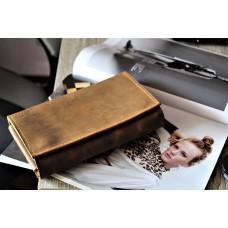 Жіночий клатч-гаманець pu_001_whiskey