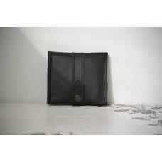 Жіночий гаманець на застібці wa_008_black