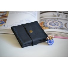 Жіночий гаманець на застібці wa_008_blue