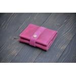Жіночий гаманець на застібці wa_008_burgundy