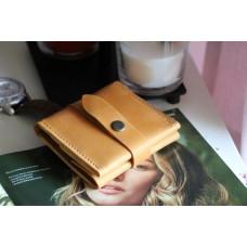 Жіночий гаманець на застібці wa_008_camel