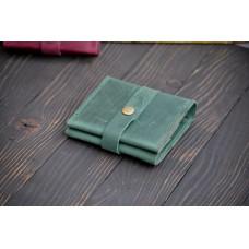Жіночий гаманець на застібці wa_008_green