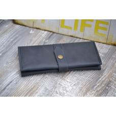 Жіночий гаманець з монетницею wa_010_blue