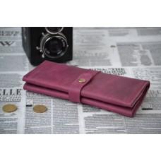 Жіночий гаманець з монетницею wa_010_bordo