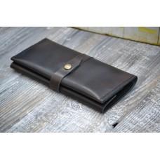 Жіночий гаманець з монетницею wa_010_cognac