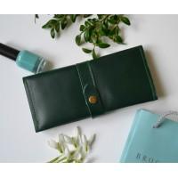 Жіночий гаманець з монетницею wa_010_green