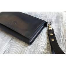 Клатч-гаманець wa_017_cognac