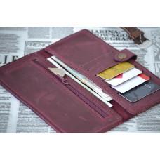 Шкіряний гаманець wa_019_bordo