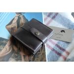 Жіночий гаманець на застібці wa_025_brown