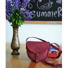 Жіноча сумка з магнітною застібкою wb_020_burgundy