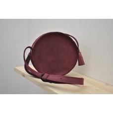 Кругла сумка wb_041_bordo