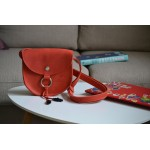 Жіноча сумка на кнопочці wb_046_red_black