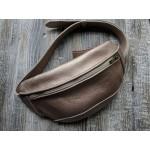 Поясна сумка з натуральної шкіри wb_051_bronze