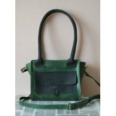 Жіноча сумка wb_007_green_black