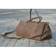 Жіноча сумка дорожня wb_30_brown